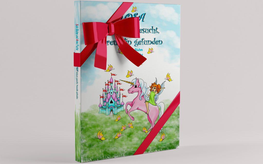Rosa – Einhorn gesucht, Freundin gefunden erscheint als Taschenbuch